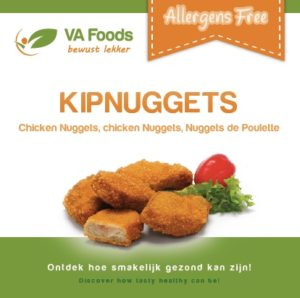 Chicken nuggets gluten-free lactose-free Halal